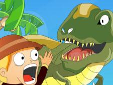 Play Vissza a Jurassic parkba Online
