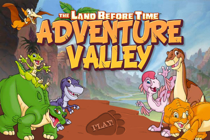 Őslények országa játék - Kaland a völgyben