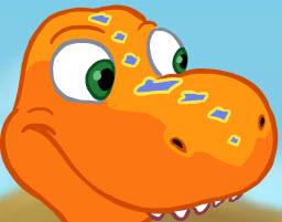Dínó halászat - T-rex …