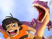 Dinoszaurusz parkolós